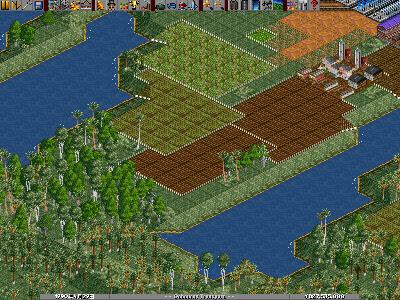 水路建設予定地